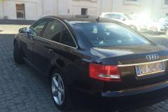 Audi A6 nera.5 porte. 2006