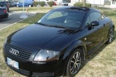 Audi TT nera.3 porte.1999