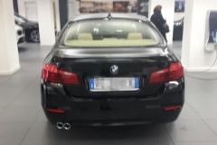 BMW 520 nero.5 porte 2016