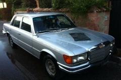 Mercedes 350 SE.1986.5 porte.grigia