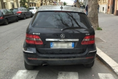 Mercedes Classe B nera 5 porte.Anno 2007 (3)