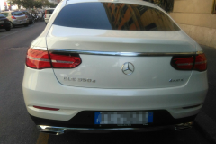Mercedes GLE 2016. Bianco perla (1)