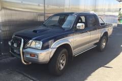 Mitsubishi 2006.Blu-grigio