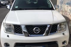 Nissan Pathfinder bianco 2009