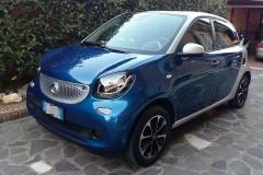 Smart four four 2016.5 porte.azzurra